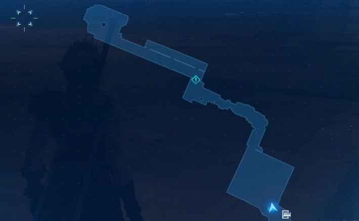 貨物保管区のマップ