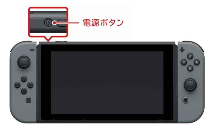 Switchの電源ボタン