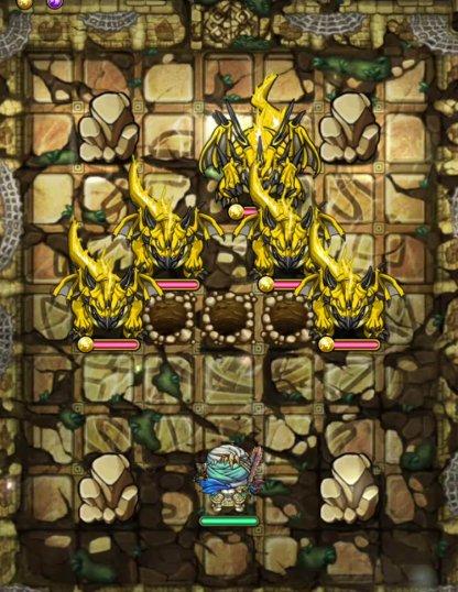 ヴァナヘイム編13階フロア1のモンスター穴