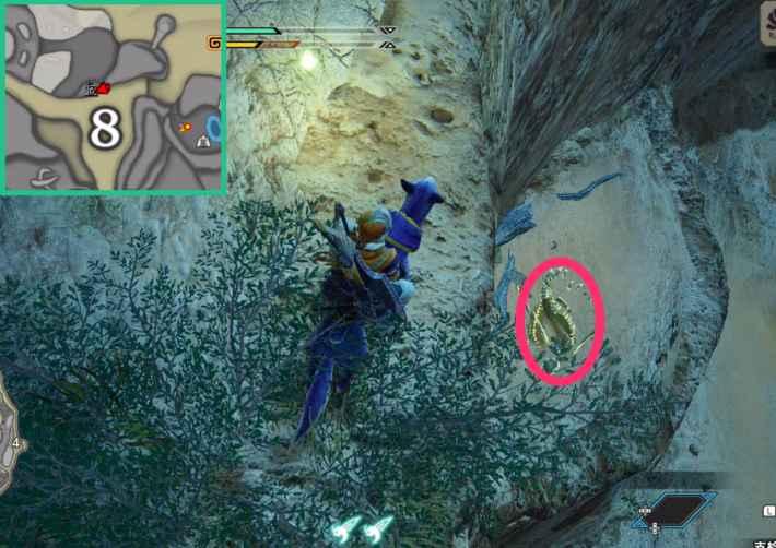 砂原の骨塚④の場所