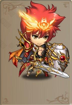 焔の軍神のスキン
