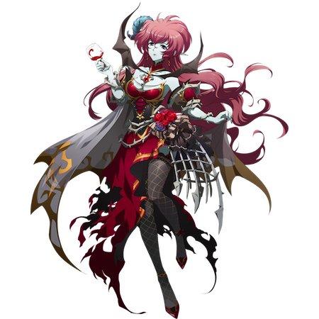 魔血の妖女のスキン
