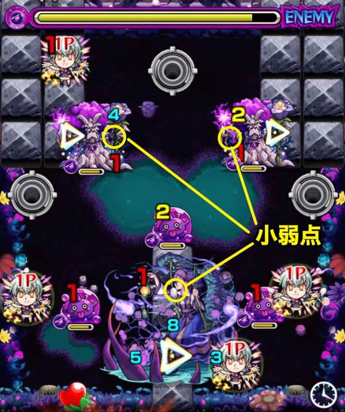テイネモシリ【爆絶】の第5ステージ