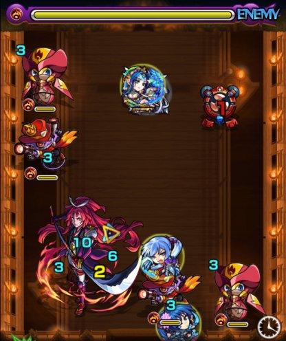 湖月姫【究極】ステ2