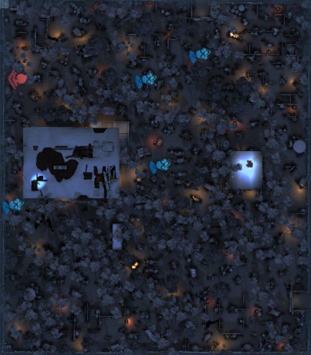 レオの思い出のスポーン地点マップ