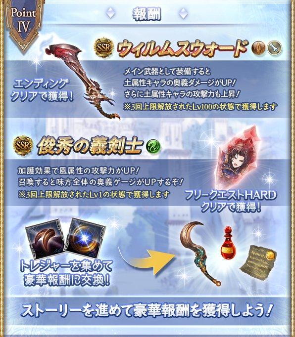 『ふたりの騎士道』攻略/報酬まとめ サイドストーリーの画像