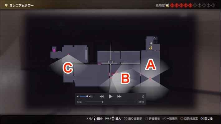 3Fのマップ画像