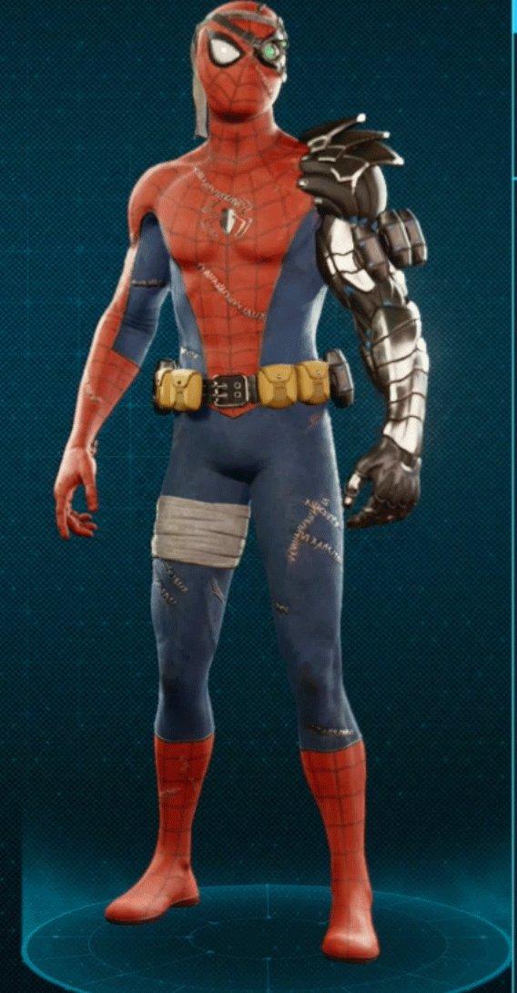 サイボーグスパイダーマンスーツ