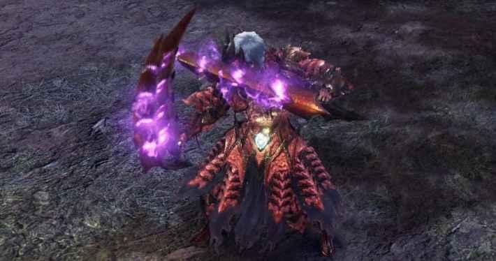 覚醒武器双剣の龍紋力の解放