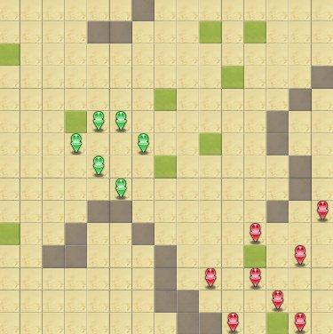 燦晶の女戦士マップ画像