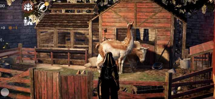畜舎の家畜