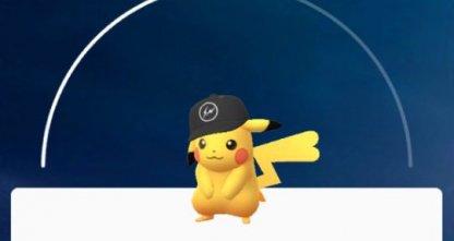 黒い帽子ピカチュウのイメージ