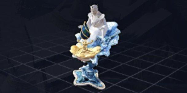 シルビア女神像