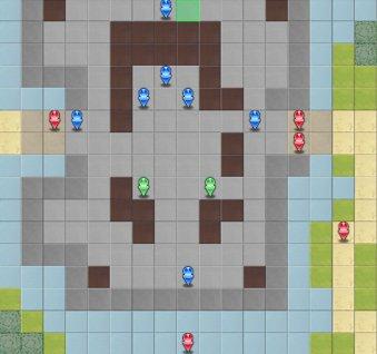 6-1:脱出のマップ画像