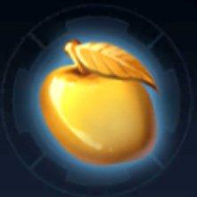 リンゴのブローチのアイコン