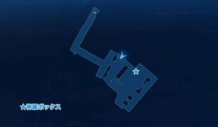地上140m付近のマップ