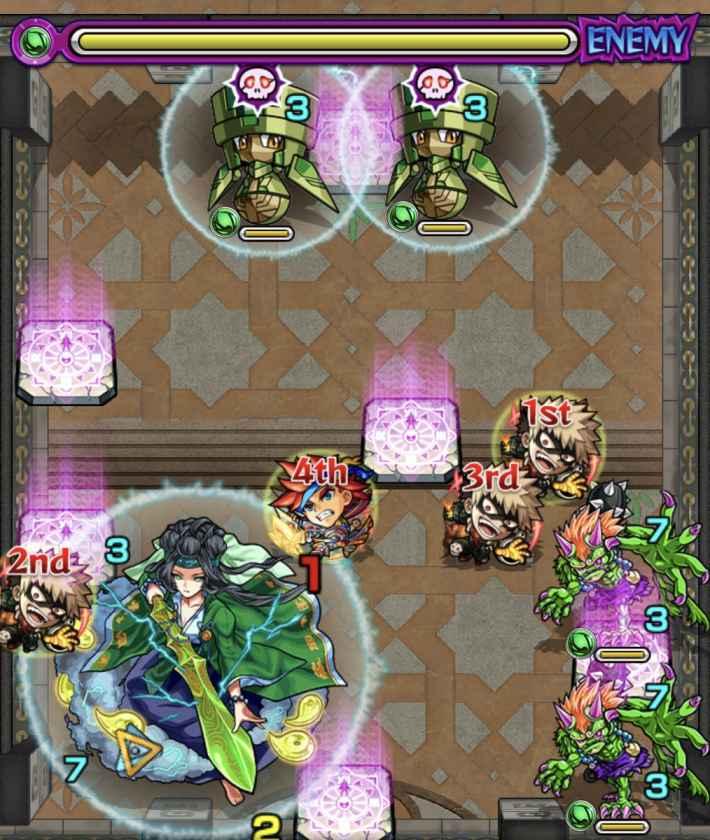 裏覇者38-5のステージ画像