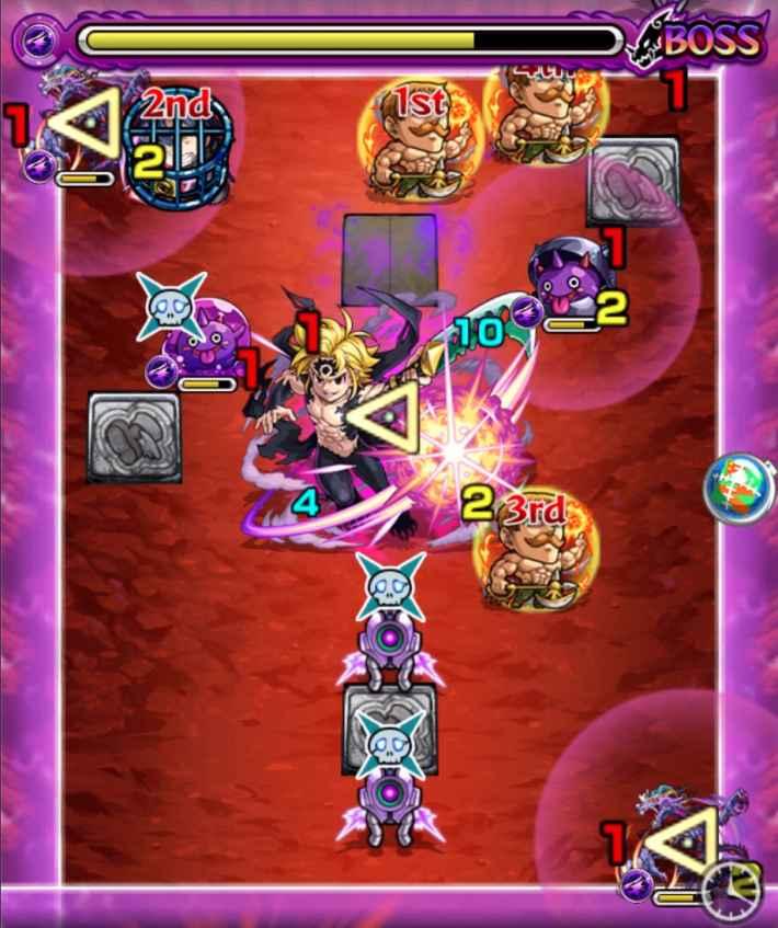 メリオダス超究極のボス3