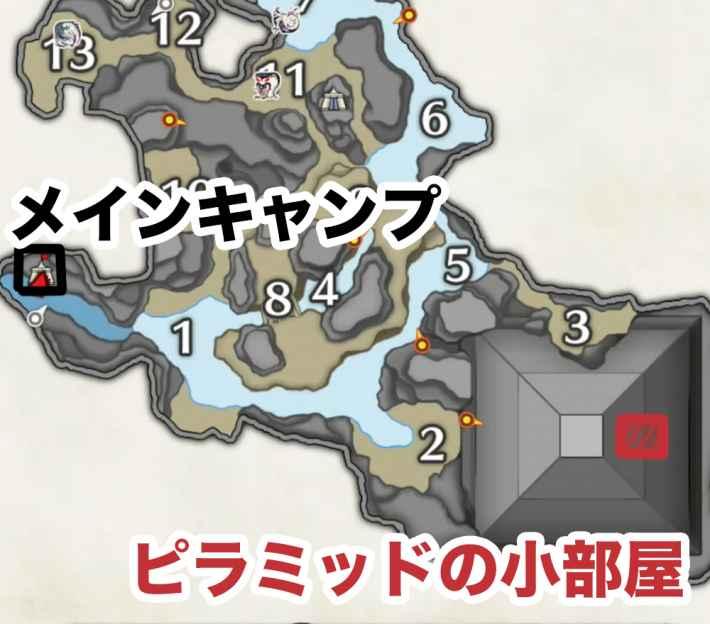 ケツァルコブラ地図