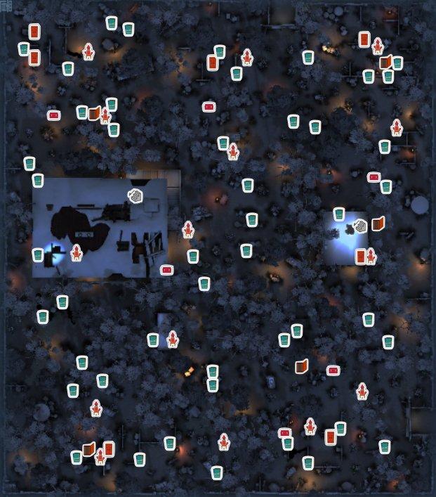 レオの思い出の全体マップ(アイコンあり)
