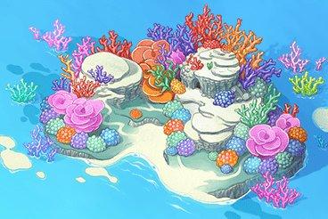 サンゴの島