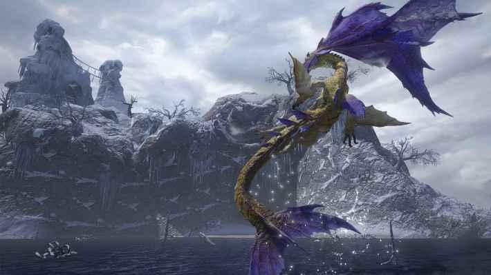 人魚竜は妖麗に舞う