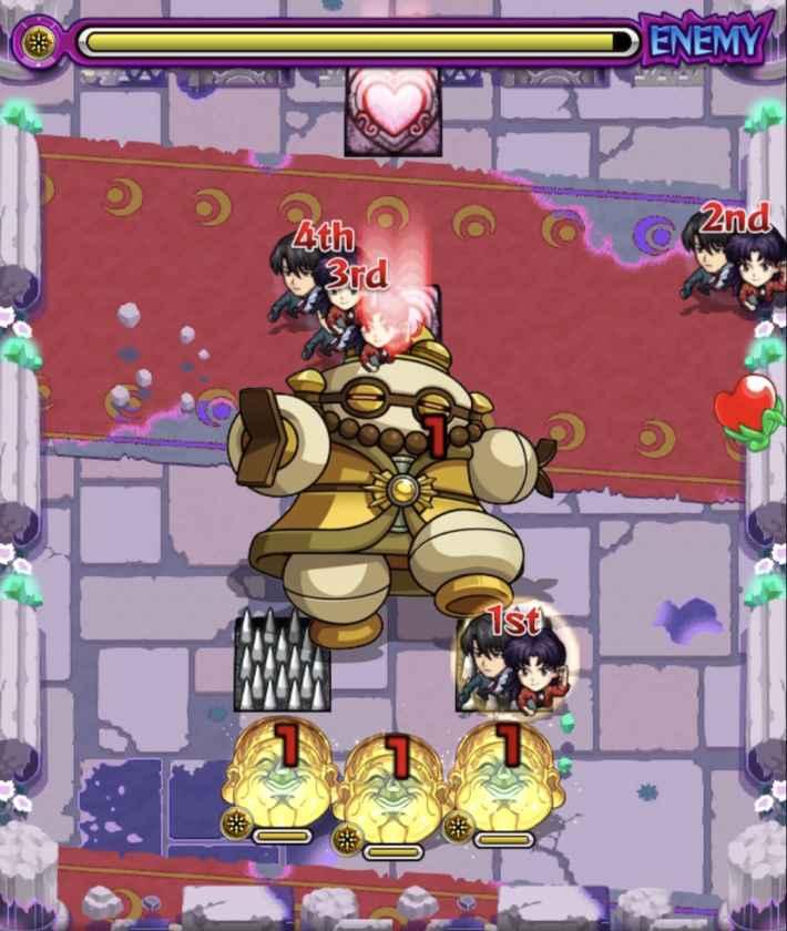 葉桜5ステージ2ドクロ
