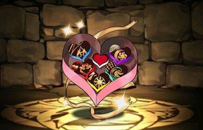 バレンタインチョコレートの画像