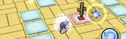 エレメージュのスキル1_戦闘武装(援護攻撃)が敵を自動で見つけて攻撃する