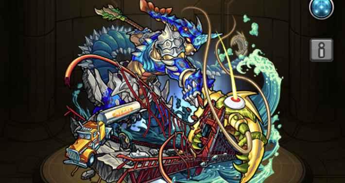 巨大鋏獣ブルーロブスター(神化)
