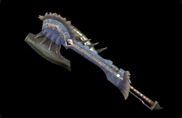 雪族の剣斧1