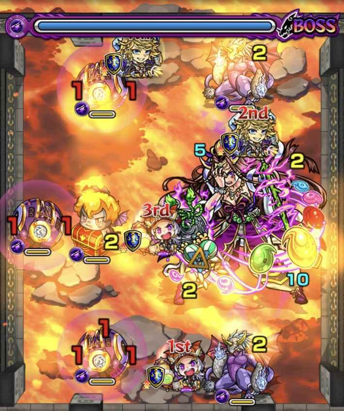 裏覇者北36-5のステージ画像
