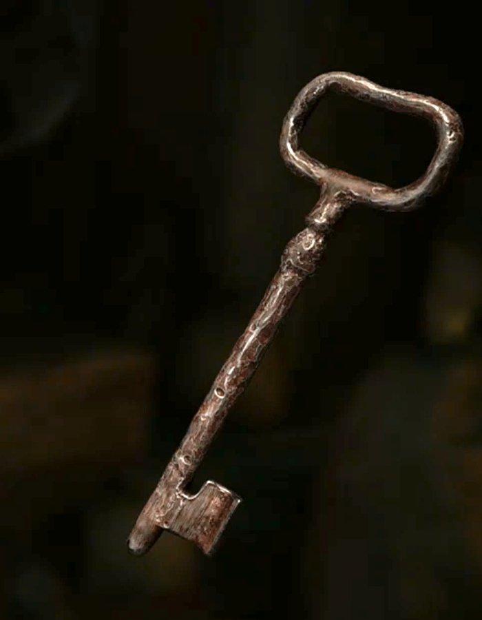錆びついた鍵