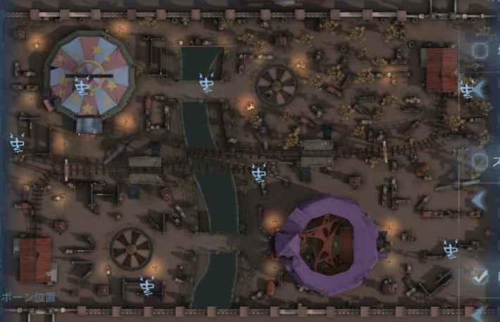 月の河公園の暗号機マップ1