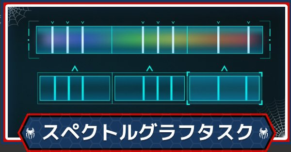 スペクトルグラフタスクの答え一覧