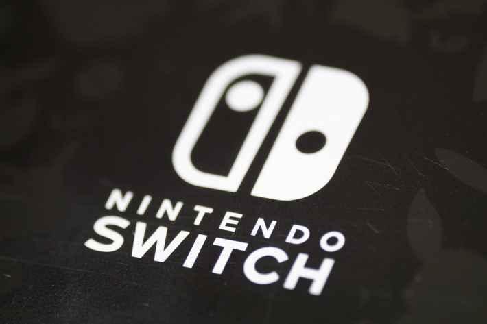 ニンテンドースイッチのロゴの画像