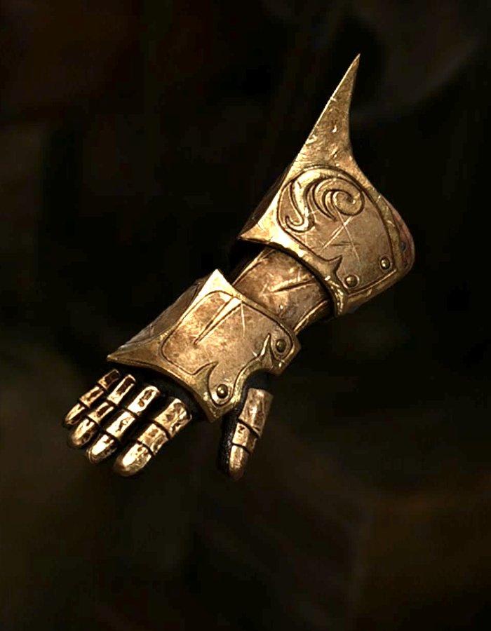 柴染の手甲