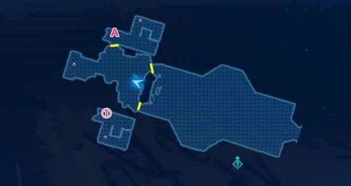協会1Fのマップ