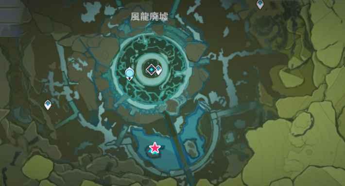 モンド釣り場風龍廃墟2