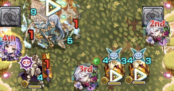 騎士を倒すと加速床が起動
