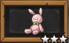 ウサギさんのぬいぐるみの画像