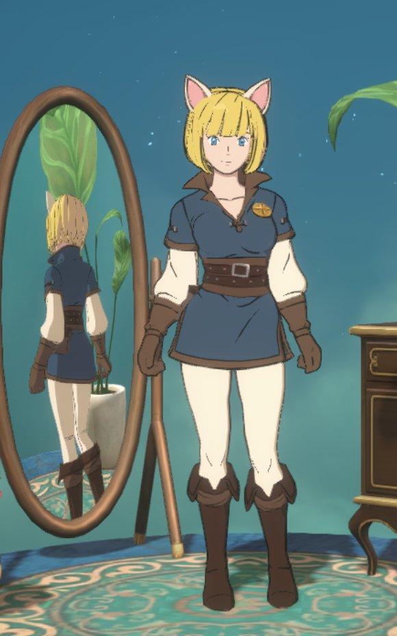 ウィッチの下級騎士団の衣装画像