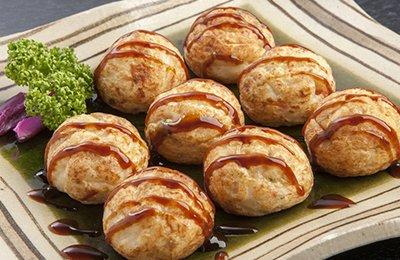 大阪:「たこ昌」しょう油味たこ焼(28個入り)