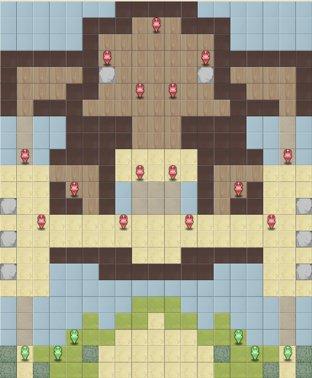 15-4:道化師アイヴァーのマップ画像