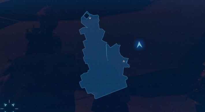 地上45m付近のマップ