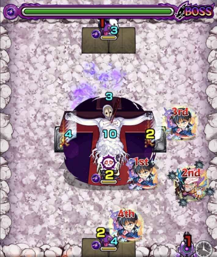 カヲル&リリス【超究極】のボス2