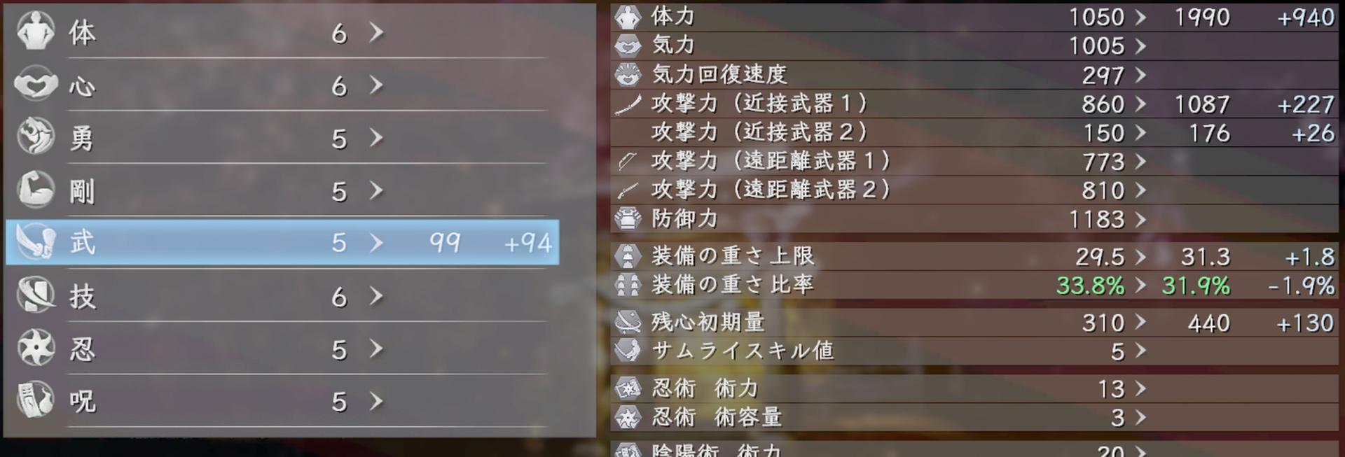 仁王 2 忍者 スキル