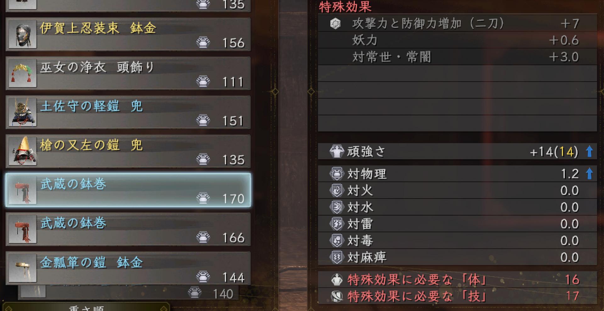薙刀鎌 装備