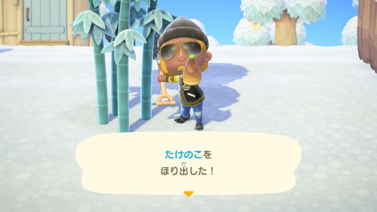 あつ 森 タケノコ