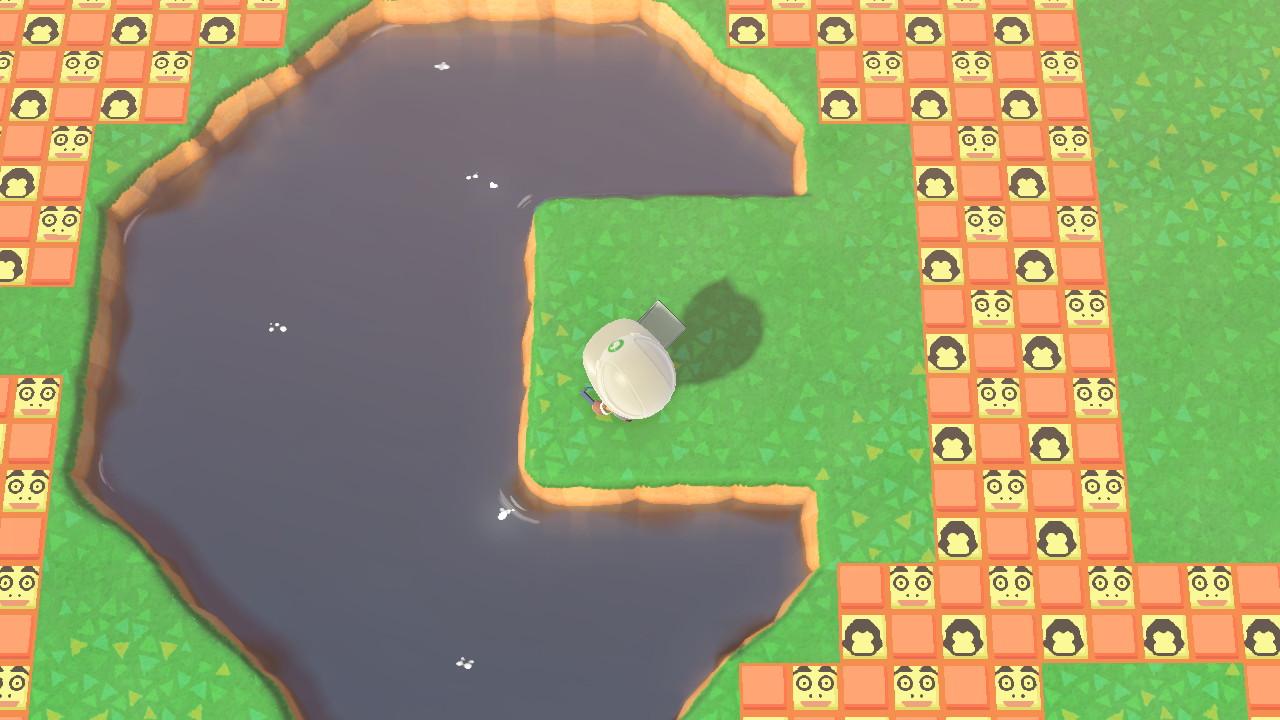 池 ハート あつ 作り方 森